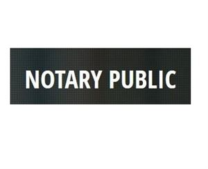 A Notary Public