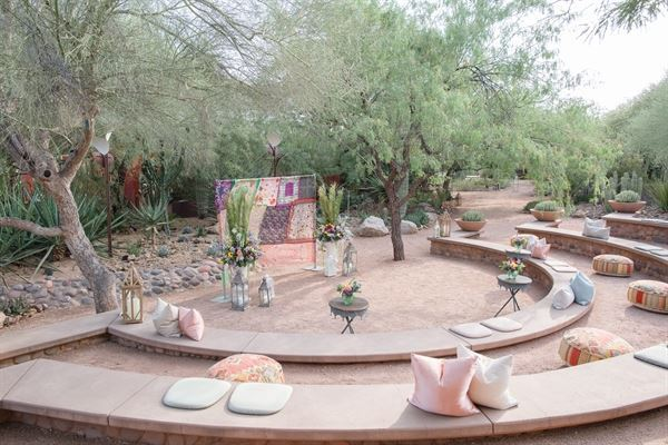 With Its Effortless Beauty, The Amphitheater Is A Natural Space For Your  Wedding, Framed By Desert Mesquite Trees. Overlooking The Gardenu0027s Sybil B.  ...