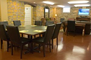 Faculty Lounge at The School House B&B