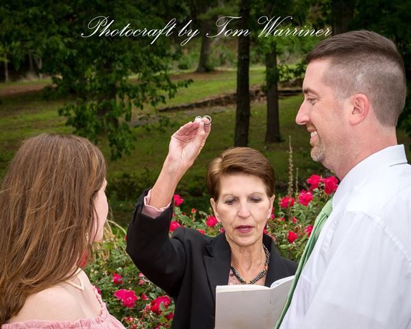 Cindy Warriner, Wedding Officiant