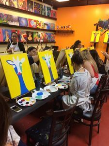 Paints N Cocktails Coconut Creek