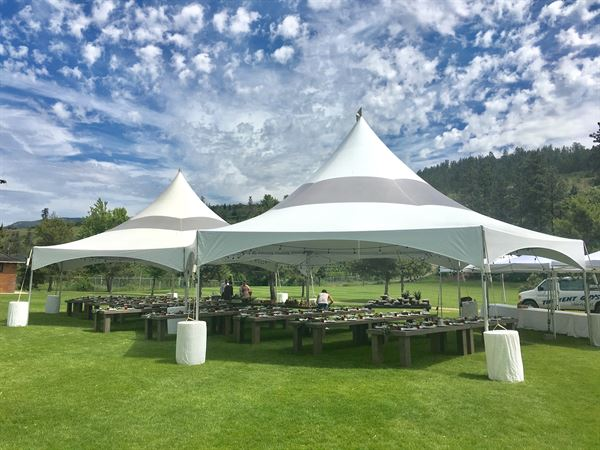 The Tent Guys Okanagan & Party Equipment Rentals in Vernon BC for Weddings and Special Events