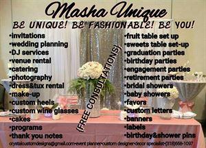 MASHA' UNIQUE