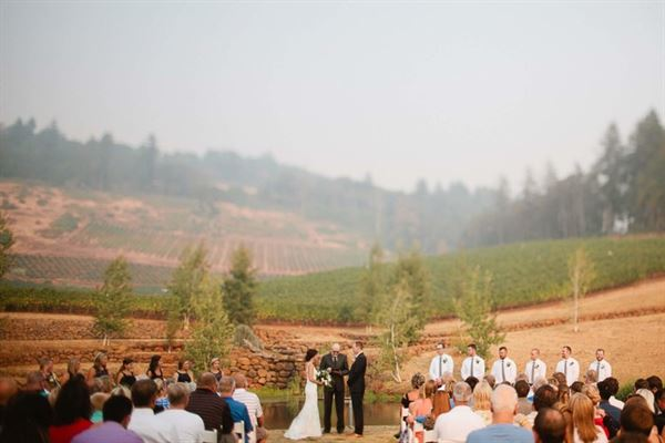 Eola Hills Wine Cellars & Eola Hills Wine Cellars - Rickreall OR - Party Venue
