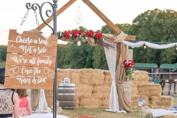 The Hay Bale Wedding Event Venue