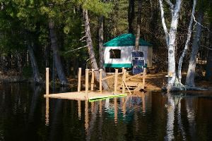 Yurt Camping