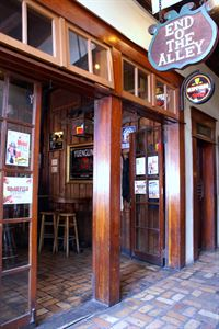 End O' The Alley Courtyard