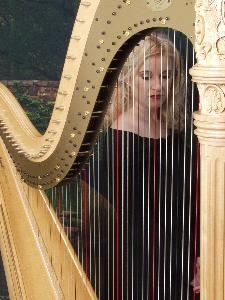 Calista Anne Waddy, Harpist