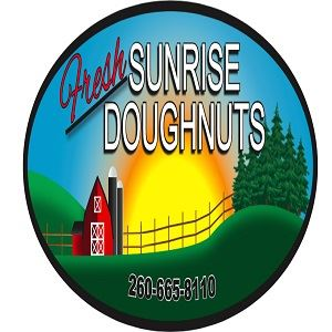 Fresh Sunrise Doughnuts