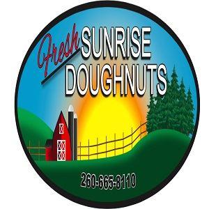 Fresh Sunrise Doughnuts