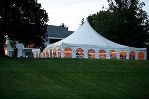 Lawn with Tent