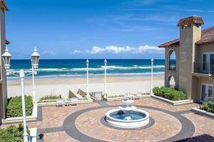 Oceanfront Lawn, Courtyard & Trellis