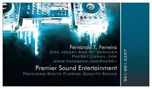 Premier Sound Entertainment