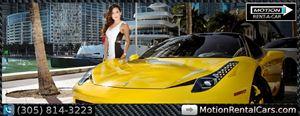 LAMBORGHINI ROLLS-ROYCE FERRARI EXOTIC CAR RENTAL SOUTH BAECH MIAMI FLORIDA
