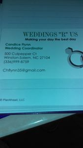 "Weddings ""R"" Us"