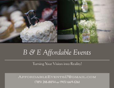 B & E Affordable Events