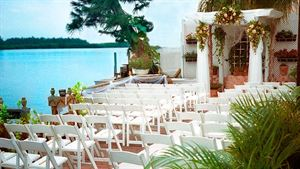 Waterfront Wedding Area