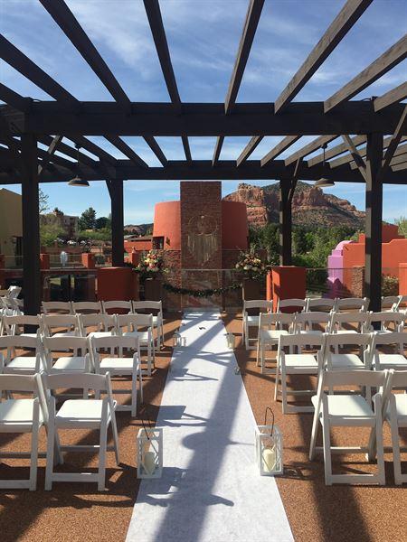 Wedding reception venues in sedona az 425 wedding places vista hall sedona junglespirit Gallery