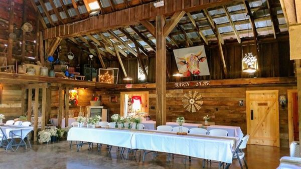 Barn Star Events Waynesville Nc Wedding Venue