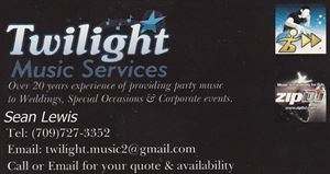Twilight Music DJ Services