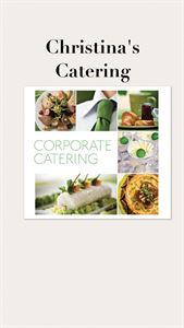 Corporate or Holiday Catering by Christina's Catering