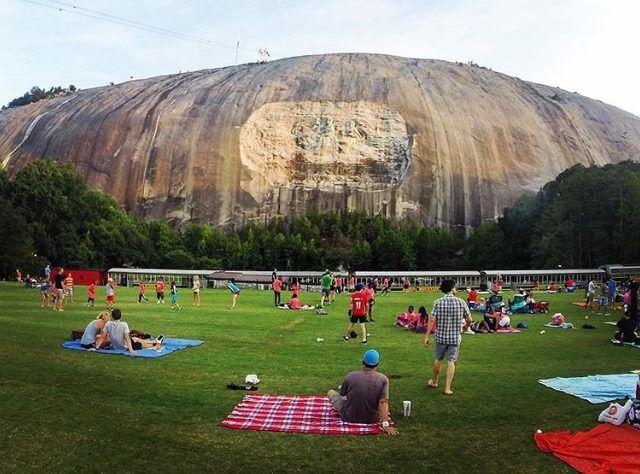 stone mountain laser show 2020