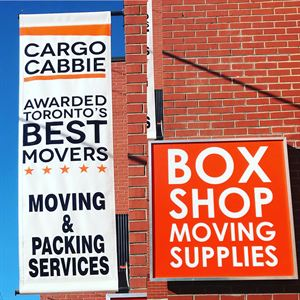 Cargo Cabbie Box Shop
