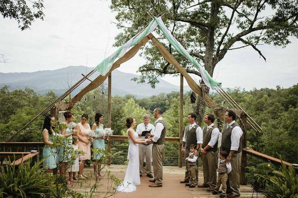 Gatlinburg Wedding Packages.Scatterridge Mountain Lodge Gatlinburg Tn Wedding Venue