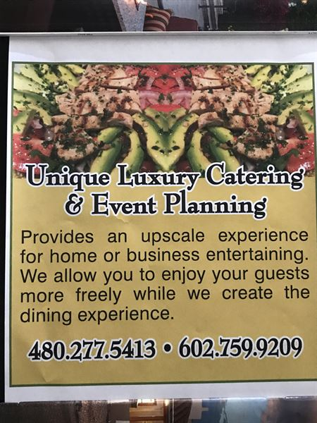 Unique Luxury Catering & Event Planning