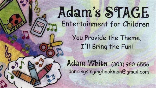 Adam's STAGE--Entertainment for Children