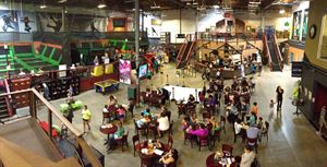 Elevated Sportz Indoor Trampoline Fun Center