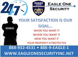Eagle One Security, Inc.