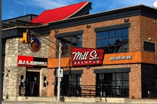 Mill Street Brew Pub St. John's
