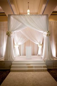 Event Drapery and Lighting Decor