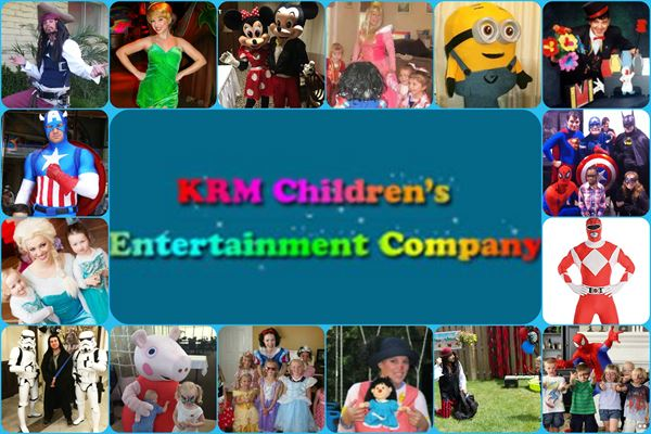 Kidz Birthday Party Characters 4 hire