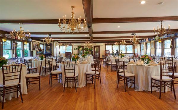 The Tea Room at Johnson Hall Museum - Wells, ME - Wedding Venue
