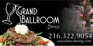 The Grand Ballroom catered by Sausalito Catering