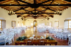 Serra Hall at Old Mission Santa Barbara