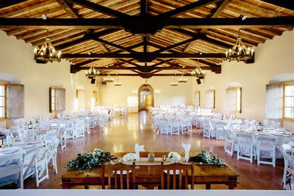 Serra Hall at Old Mission Santa Barbara