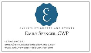 Emily's Etiquette and Events