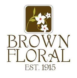 Brown Floral
