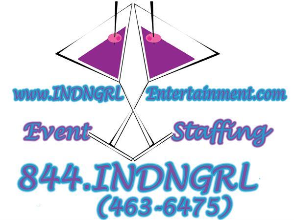INDNGRL Entertainment Event Staffing