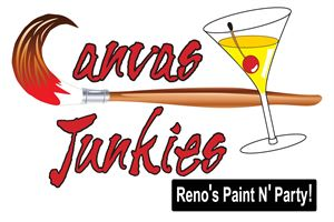 "Canvas Junkies  ""Reno's Paint N' Party"""
