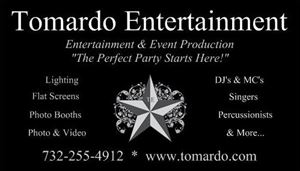 Tomardo Entertainment - The Perfect Party Starts Here!