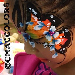 Face painting by CMACDESIGNS