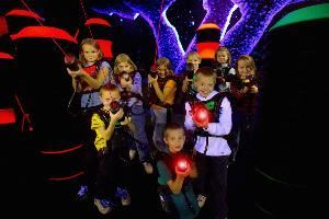 Lazer Tag at Splash Lagoon
