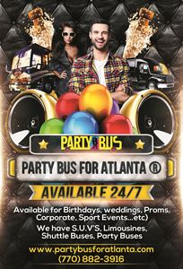 Party Bus For Atlanta ®