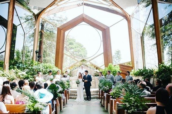 Wayfarers Chapel Wedding.The Wayfarers Chapel Rancho Palos Verdes Ca Wedding Venue