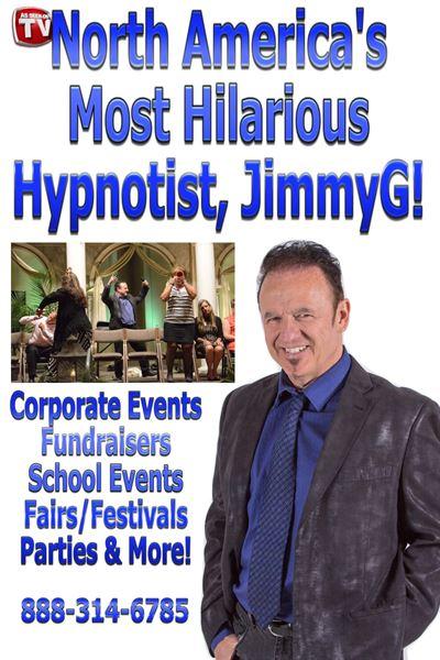 Hypnotist JimmyG's MindPower Comedy Show!
