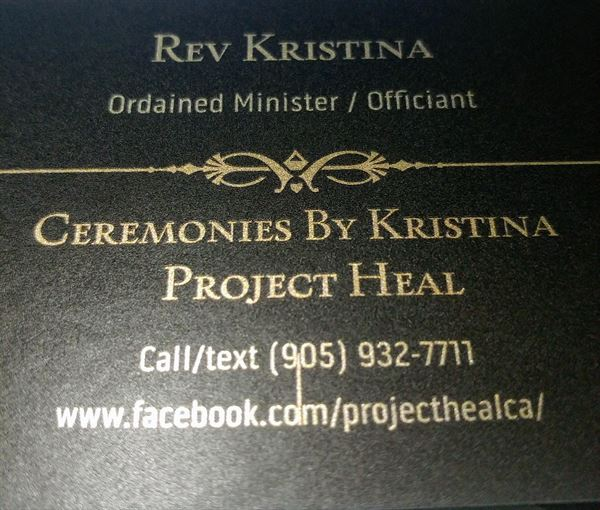 Project Heal / Ceremonies By Kristina